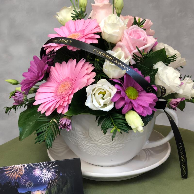 Seasonal Teacup Flowers
