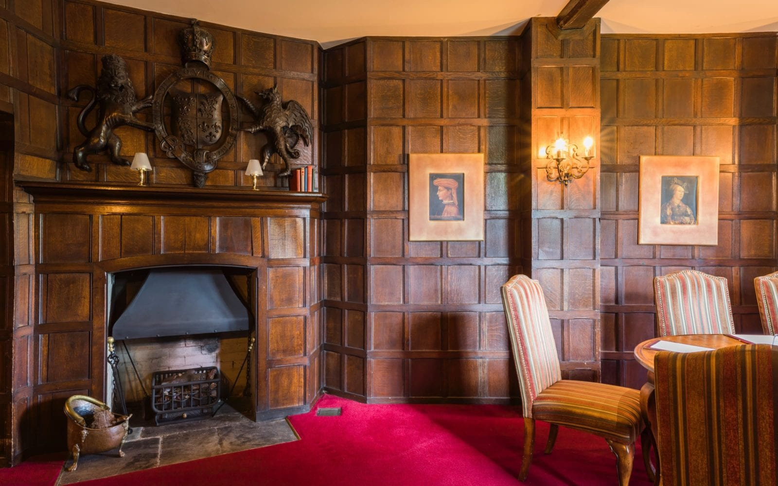 Coombe Abbey Griffin room