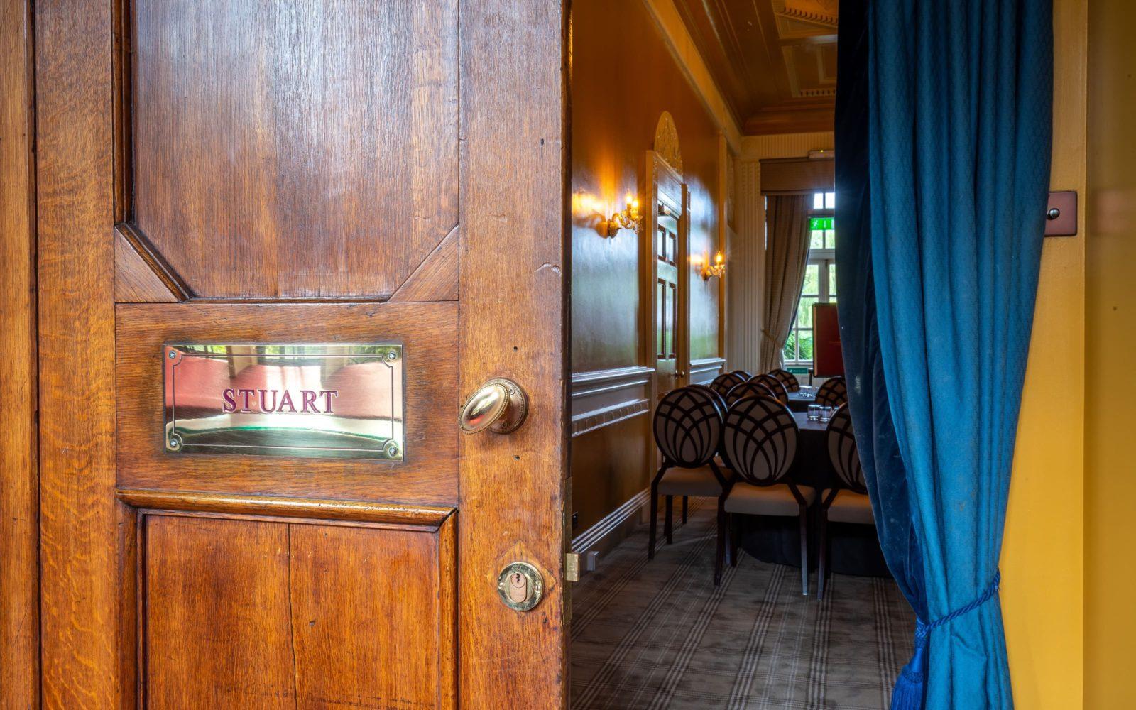 Coombe Abbey Stuart room