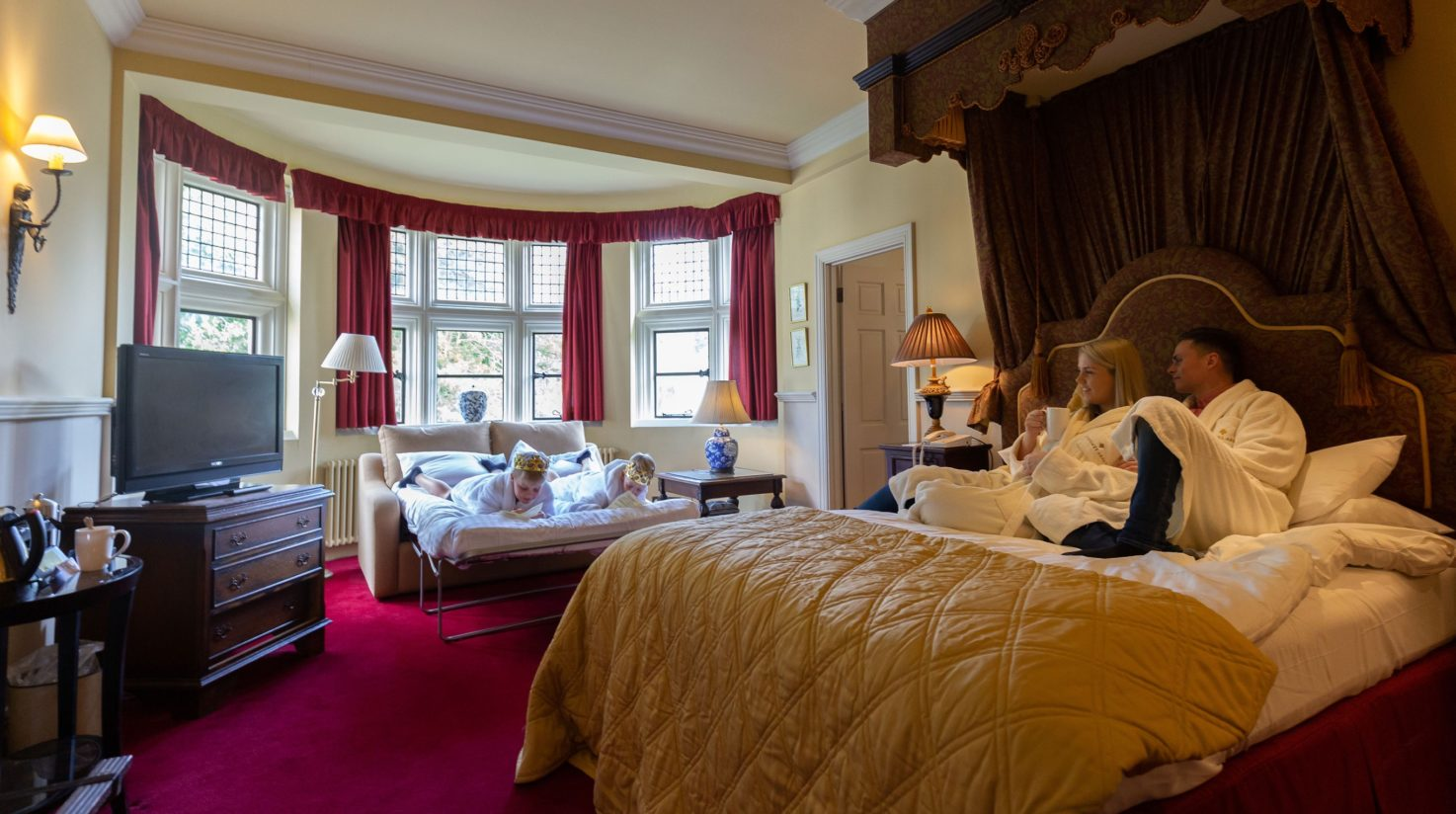 Family Room at Coombe Abbey