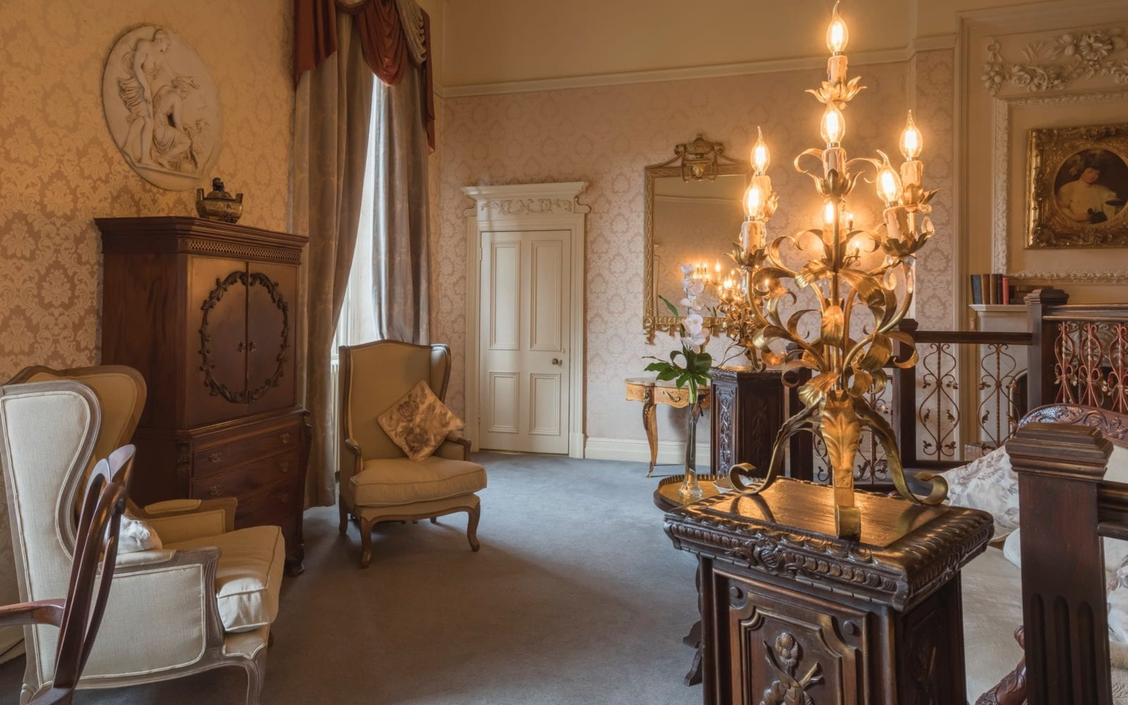 Lady Craven room Coombe Abbey