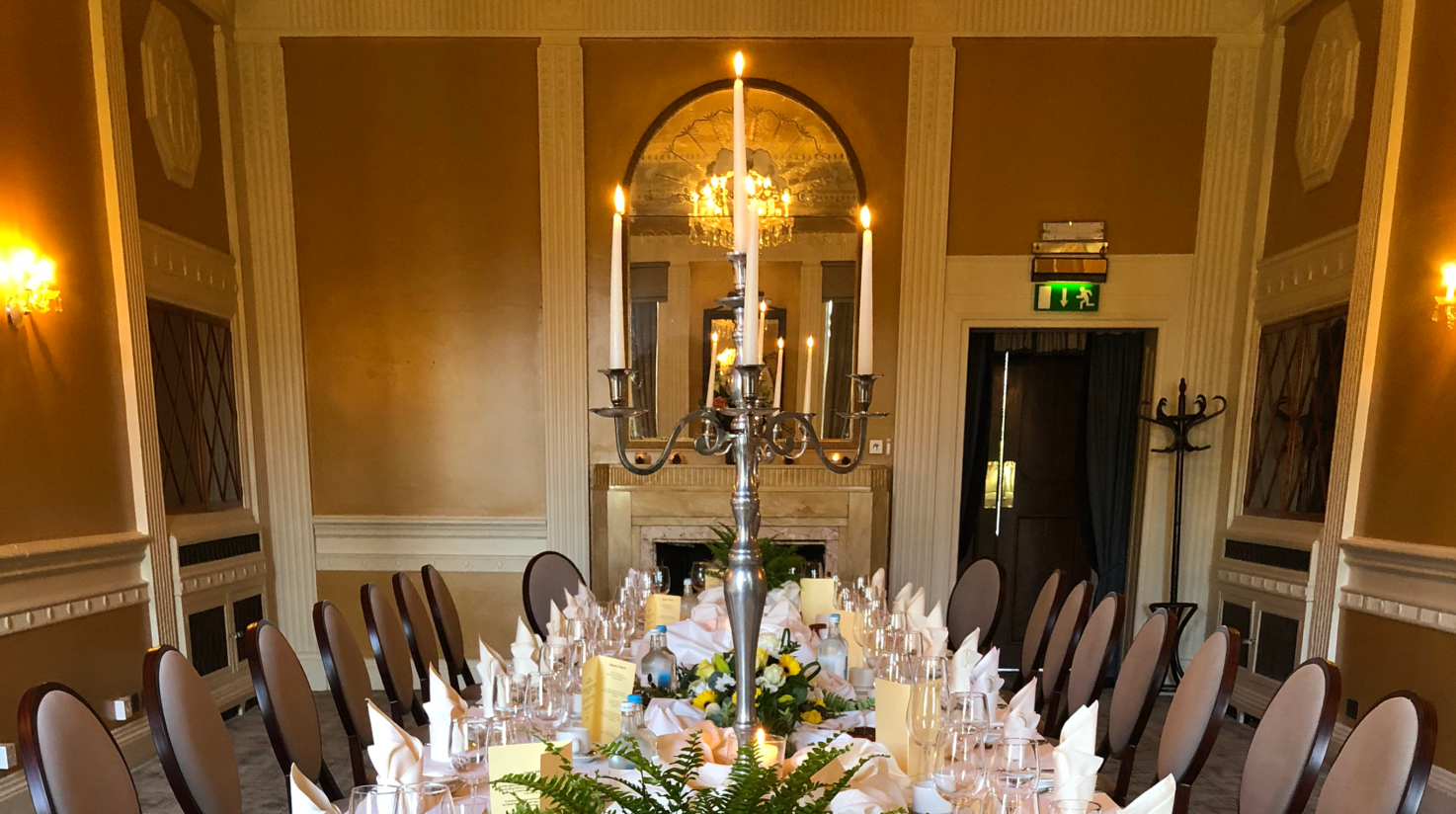 Stuart Private Dining Coombe Abbey