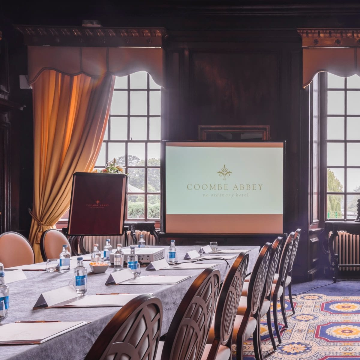 Meeting room package at coombe abbey
