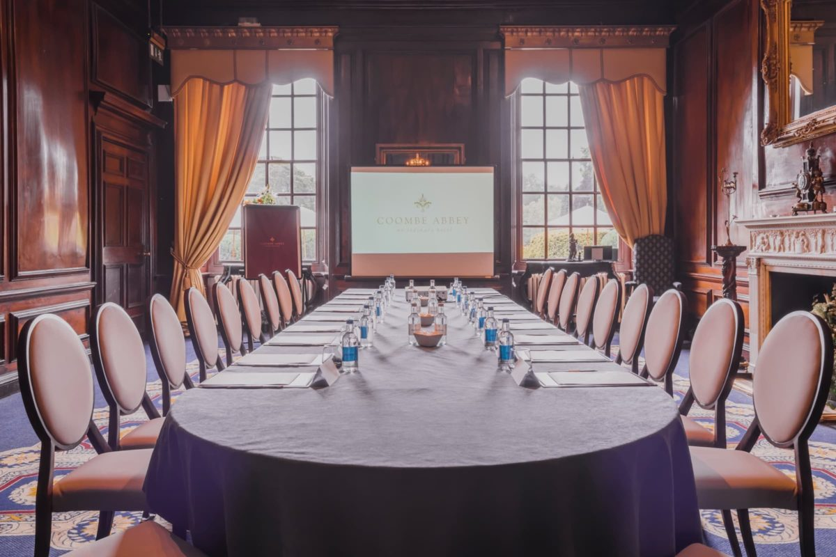Corporate meeting packages at coombe abbey