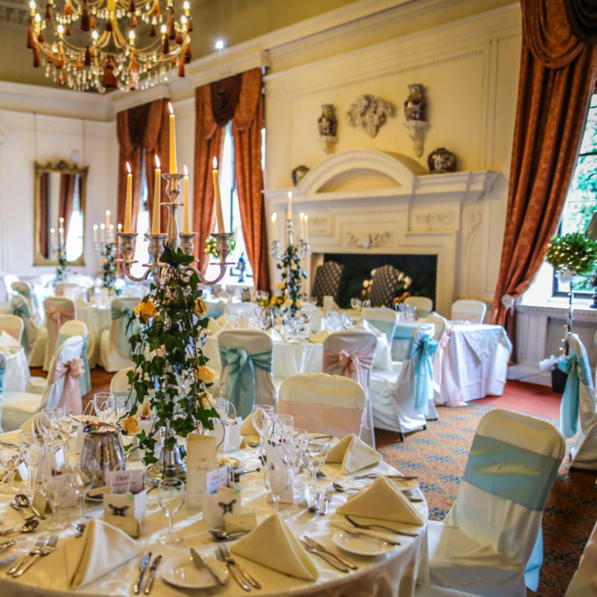 Pamper party packages at Coombe Abbey