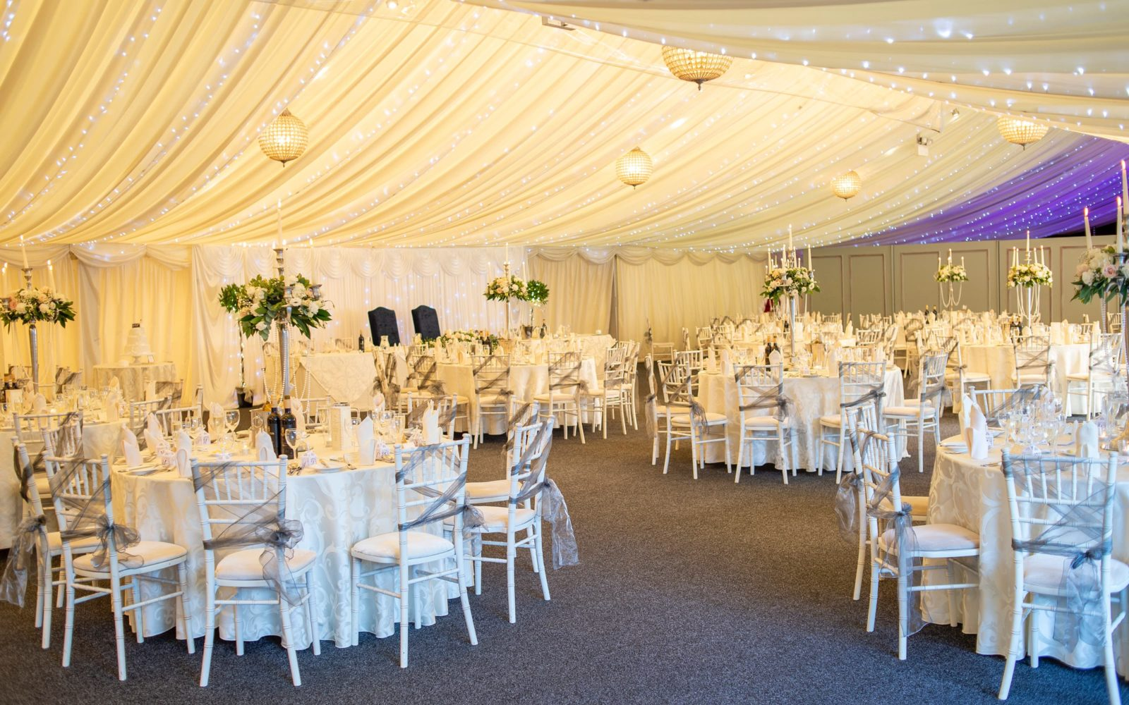 party marquee at coombe abbey