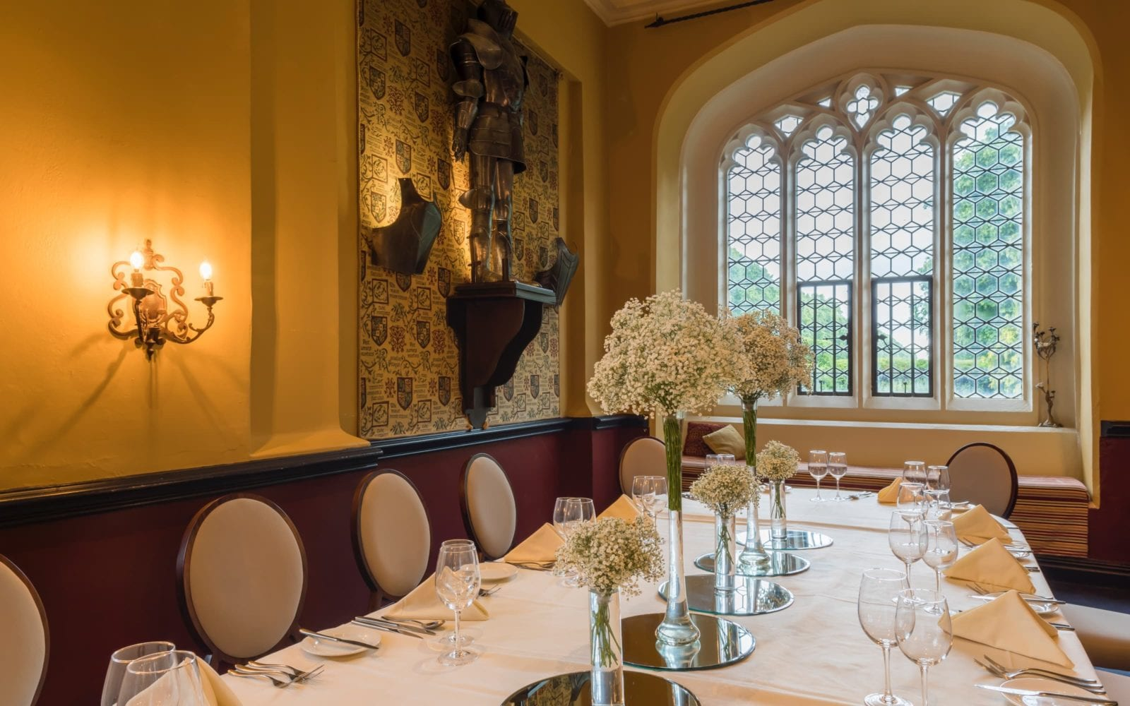 private dining room decamville at coombe abbey