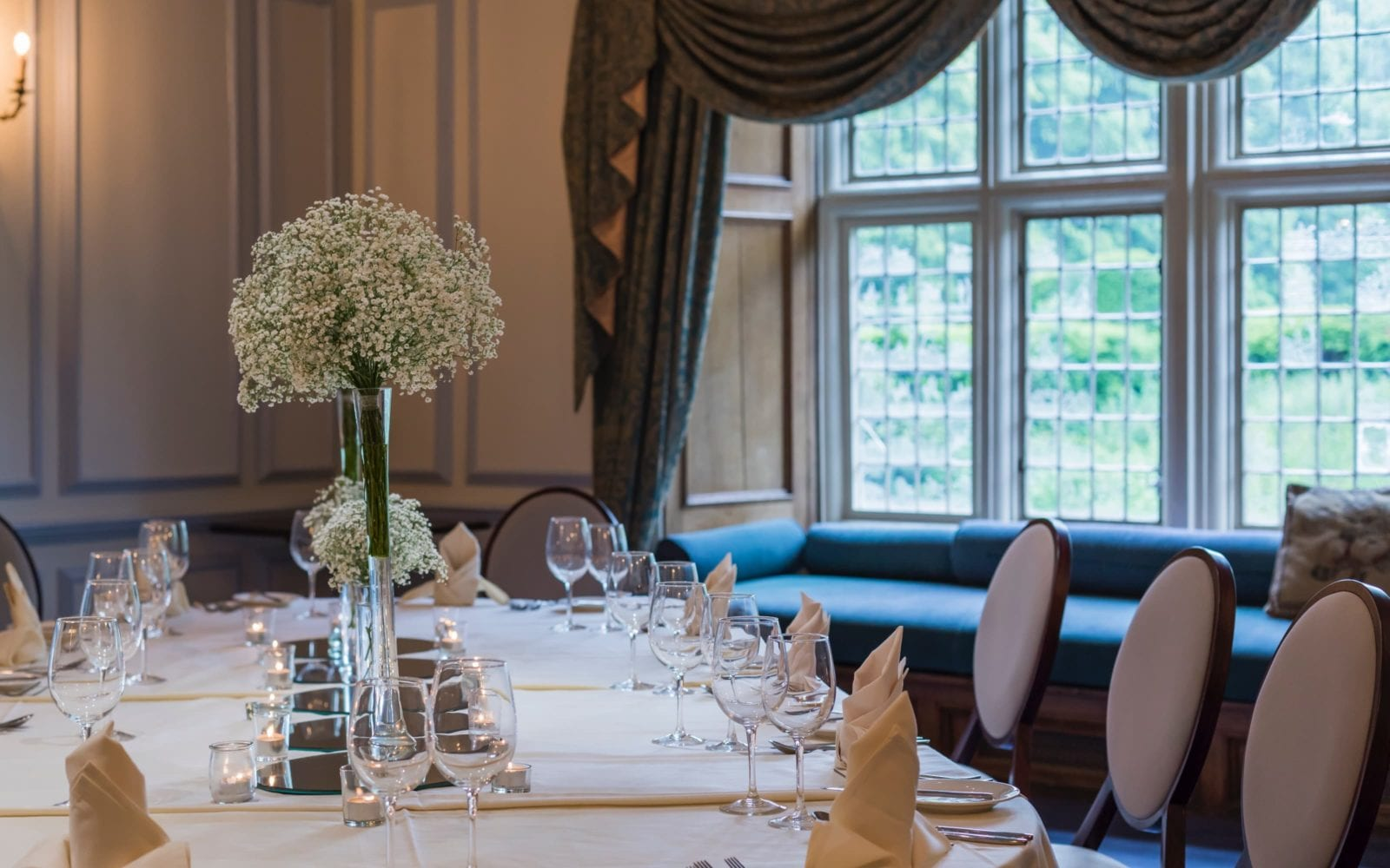private dining room Harrington at coombe abbey