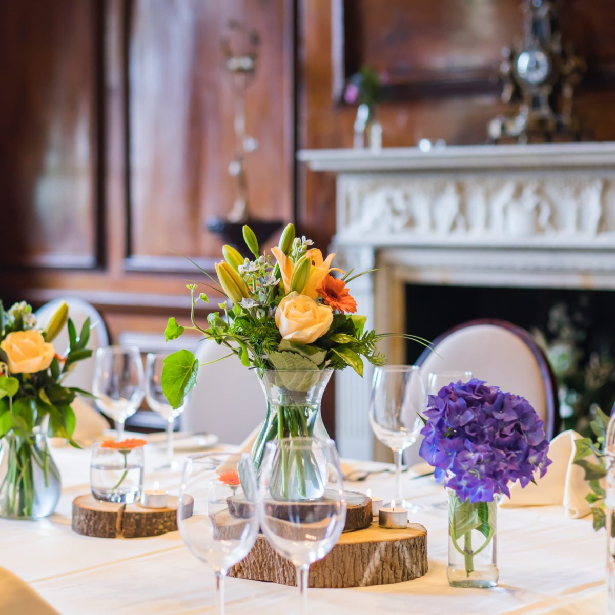 private dining package at coombe abbey