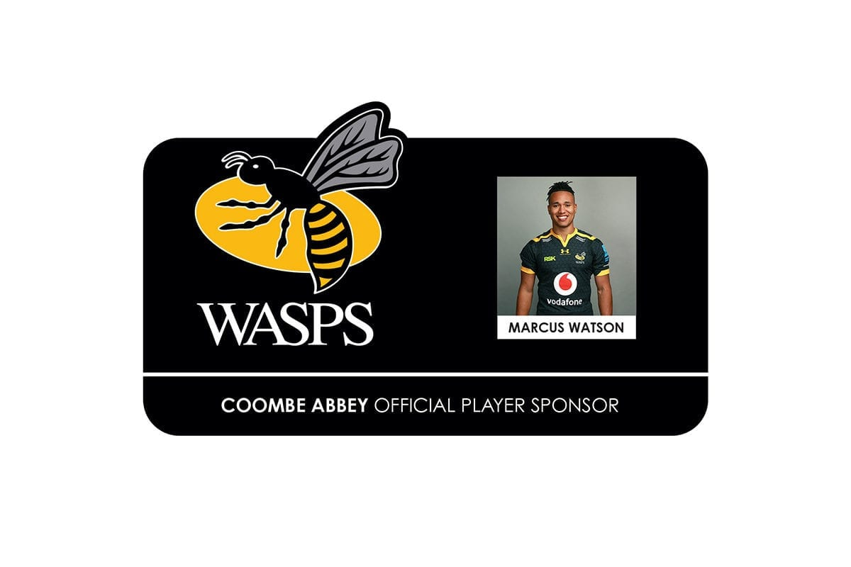 Corporate Partnership - Wasps Marcus Watson