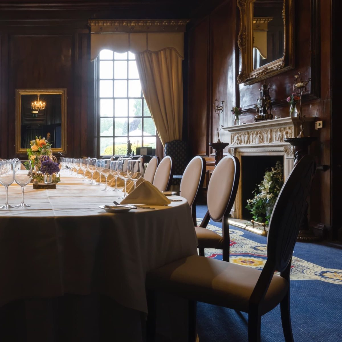 food experiences dining type at coombe abbey