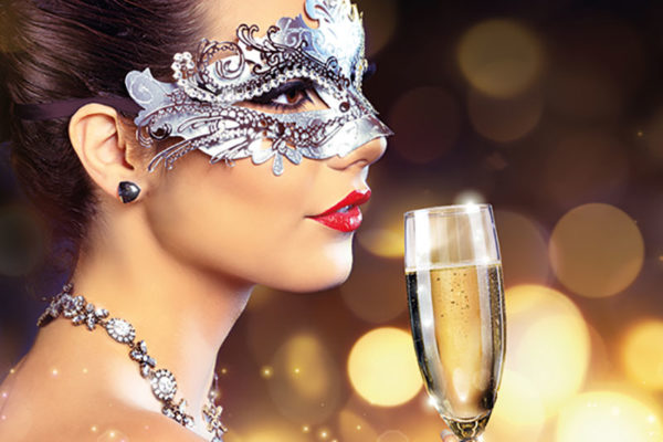 New Year's Eve – Black & White Masquerade Ball