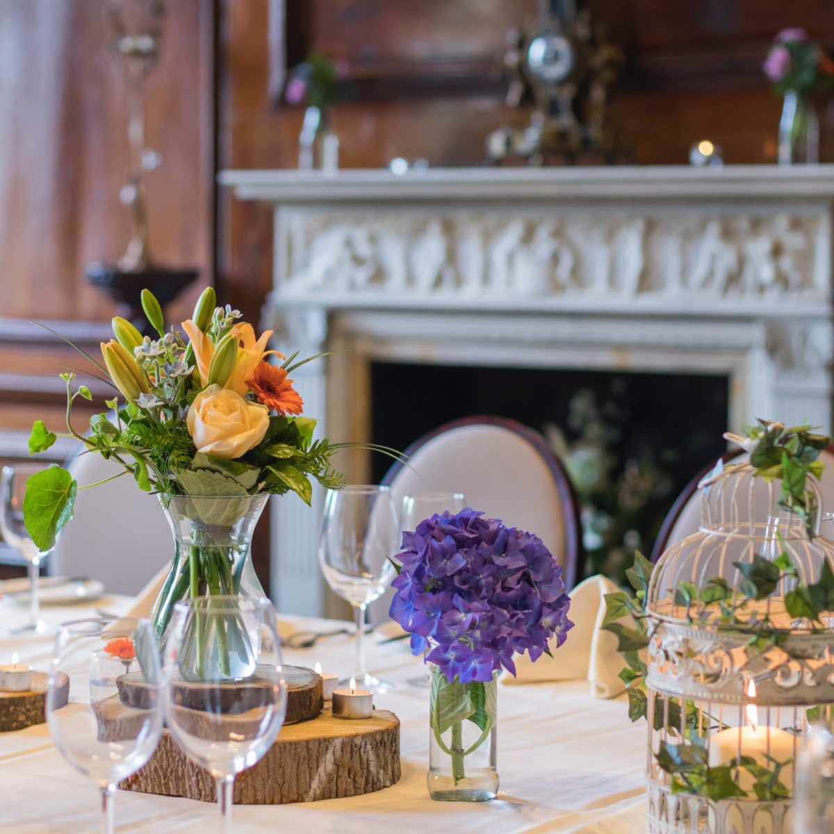 Private dining room at coombe abbey