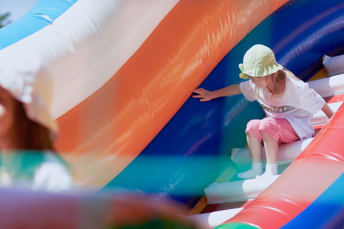 Bouncy Castle at Coombe Abbey Park