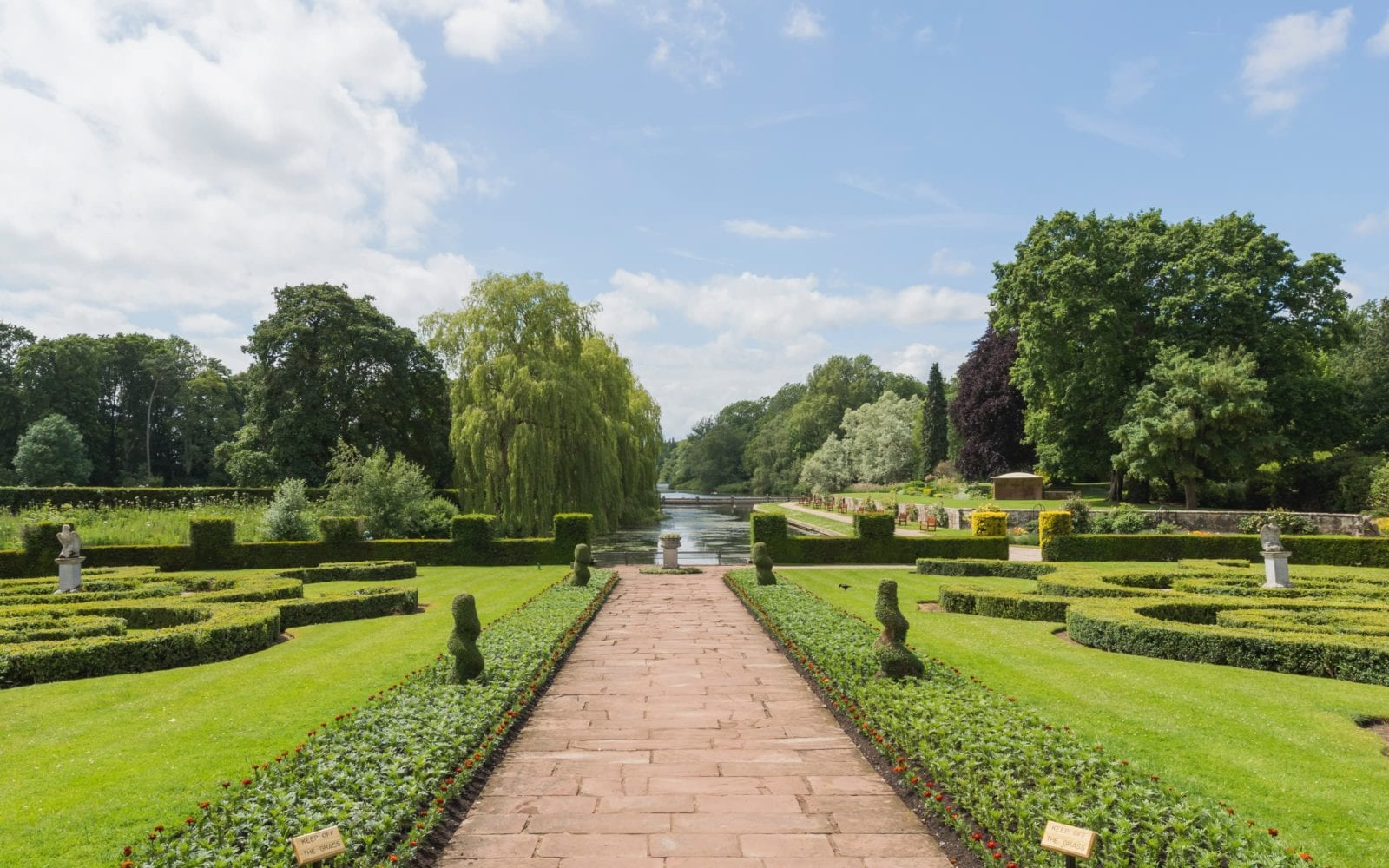 Conservation area at Coombe Abbey