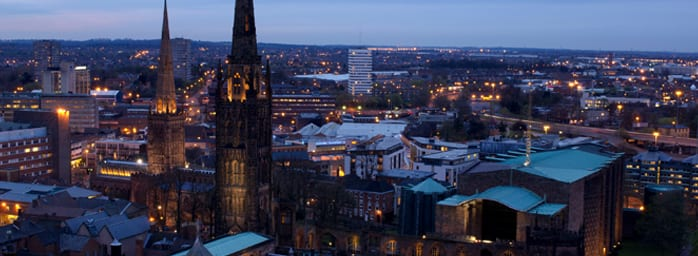 the phrase sent to coventry and coventry's skyline