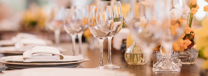 your private dining event sorted