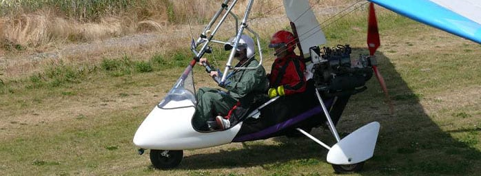 microlight day experience