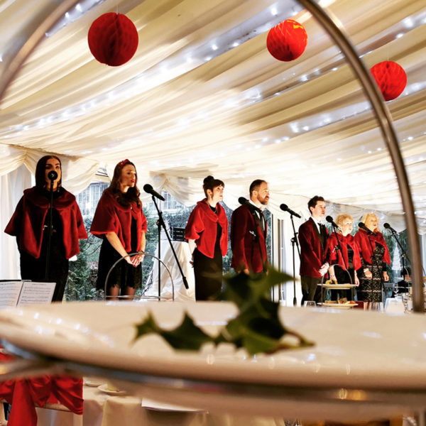Festive Afternoon Tea Carols Christmas