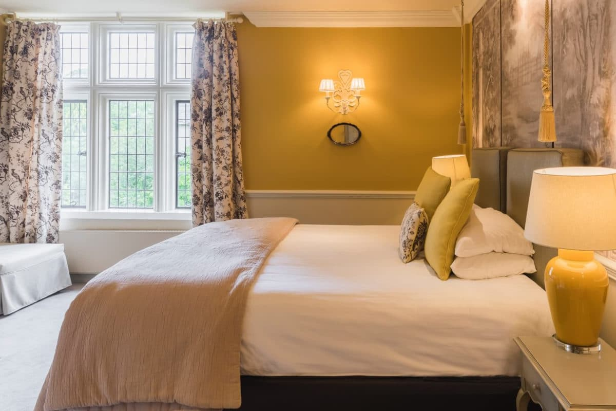 Bedrooms at Coombe Abbey Hotel