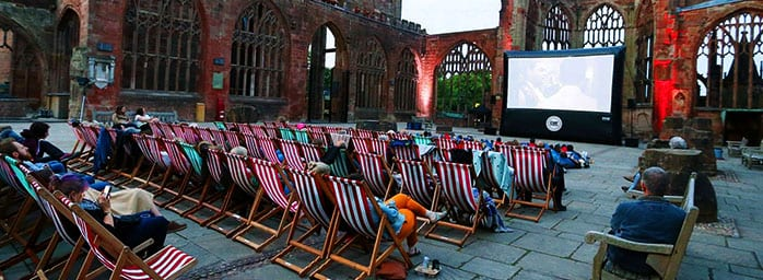 open air cinema coventry