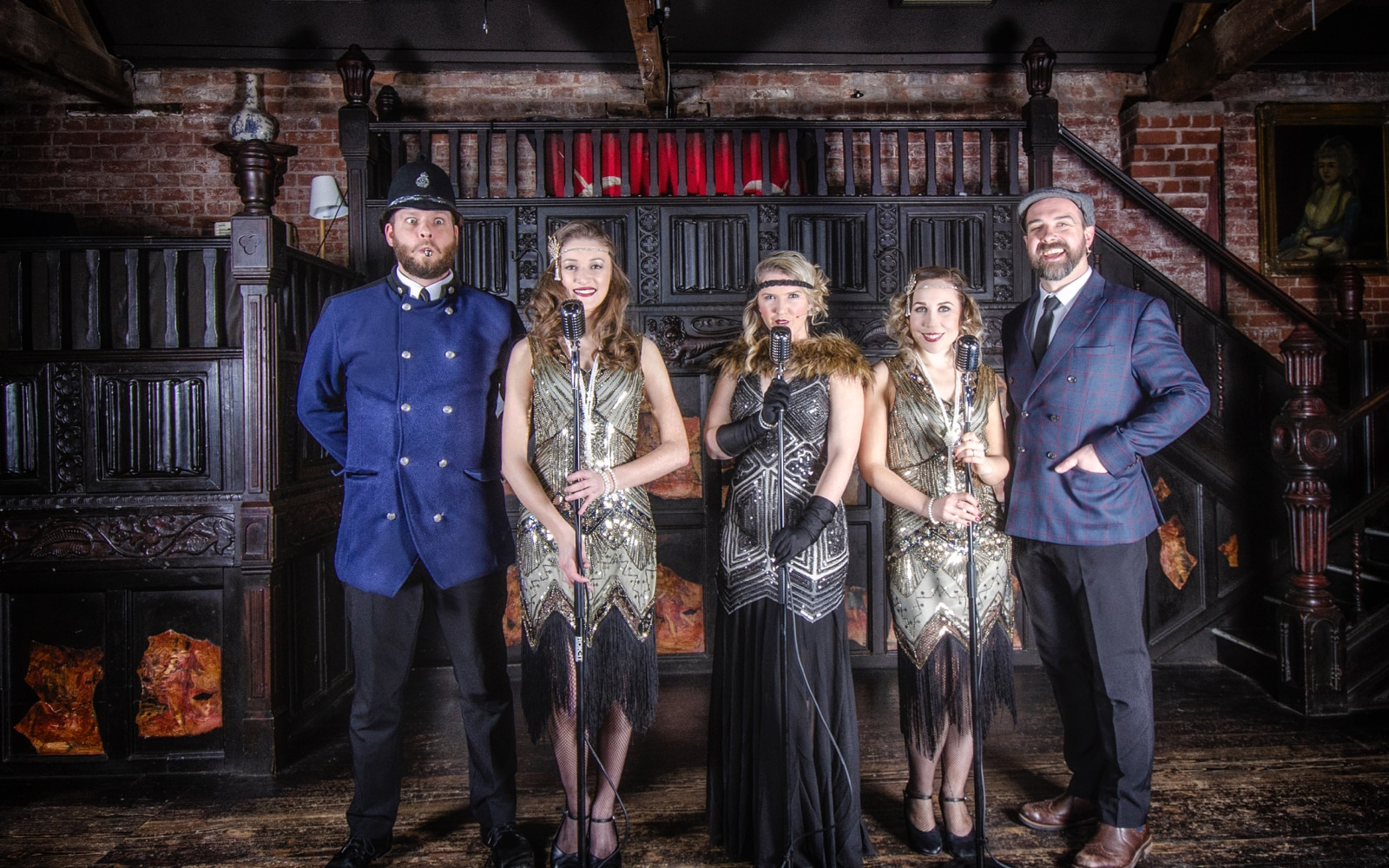 Speakeasy Blinders at Coombe Abbey Hotel