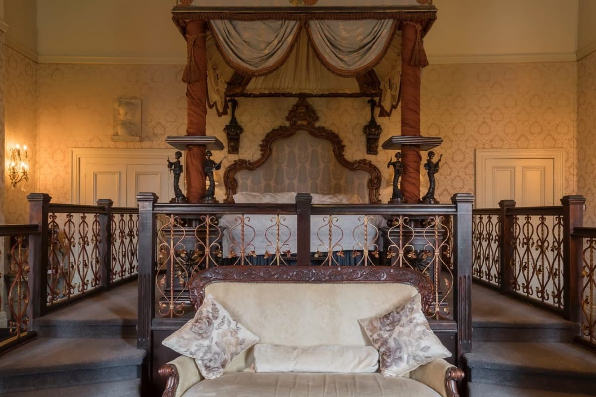 Bedroom at Coombe Abbey