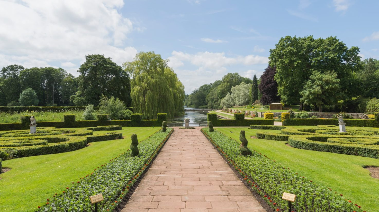 Gardens at Coombe Abbey Hotel