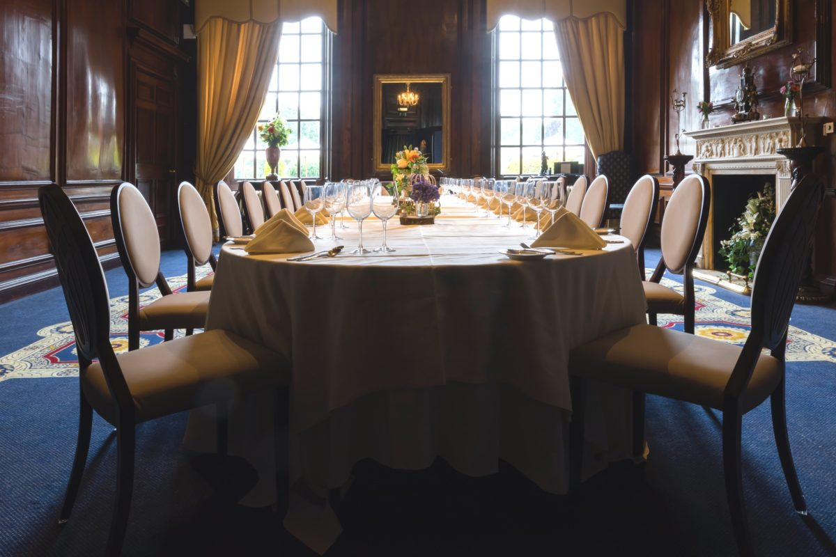 Walnut Room at Coombe Abbey