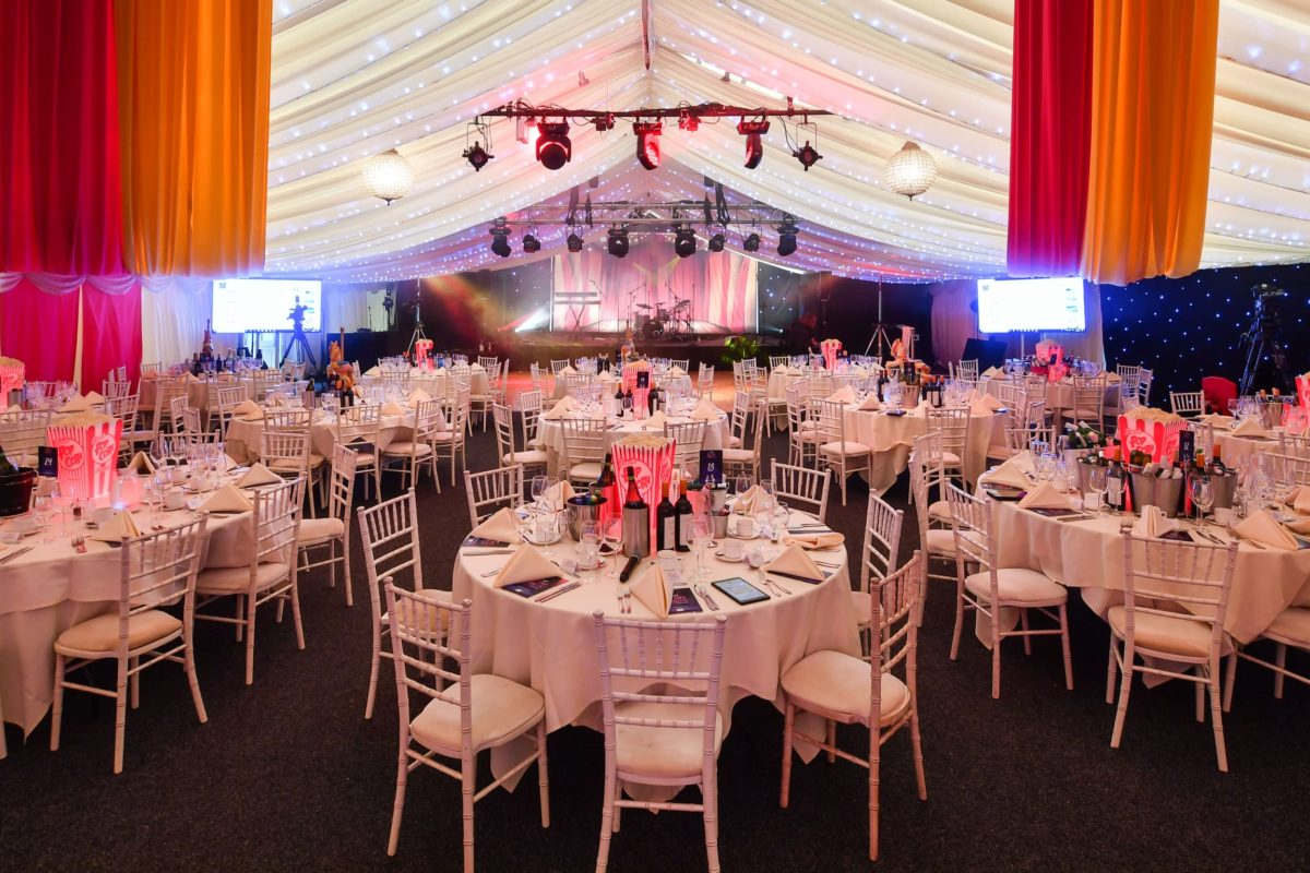 Celebrate here in our Marquee at Coombe Abbey