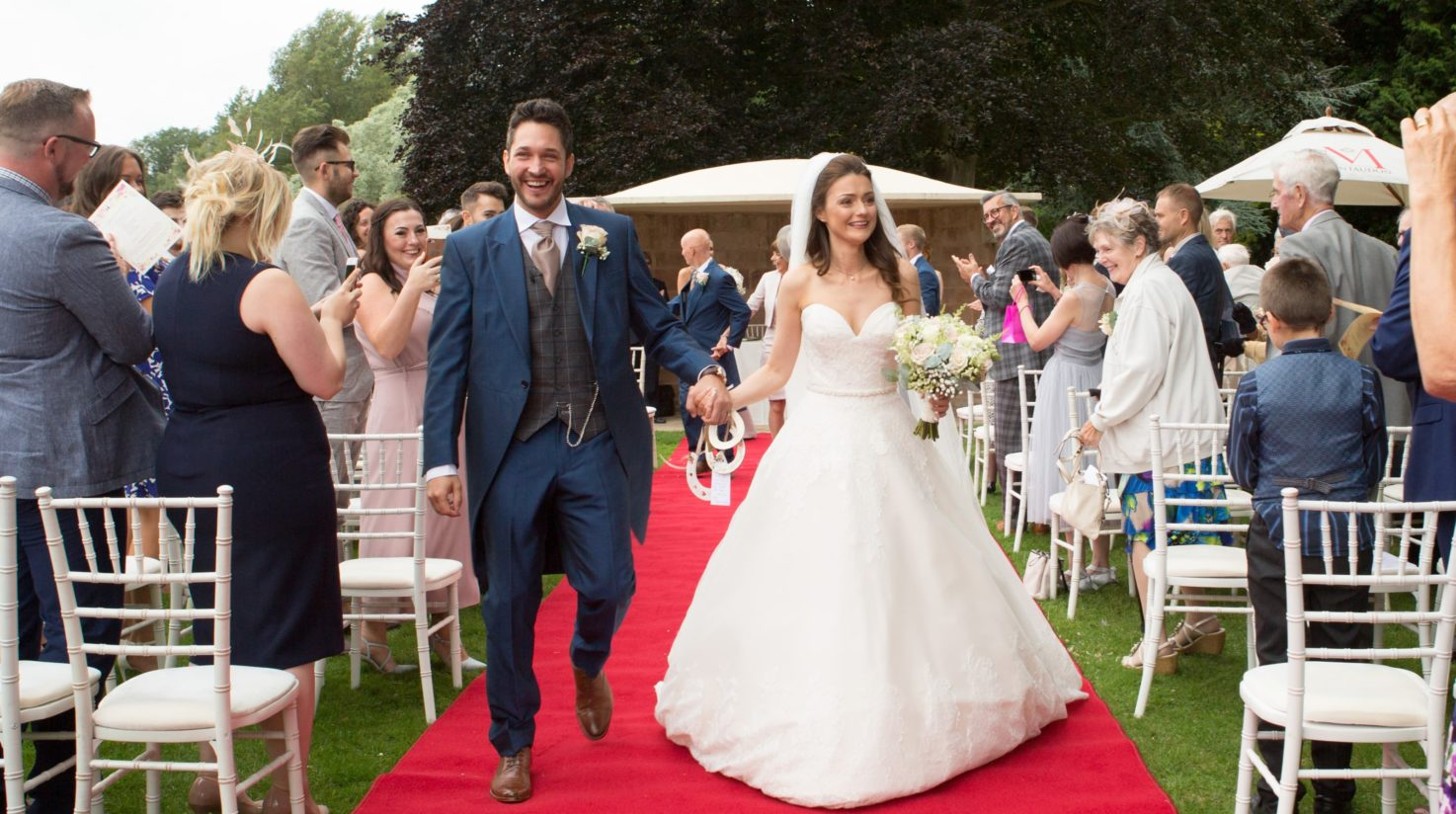 Outside Ceremony at Coombe Abbey
