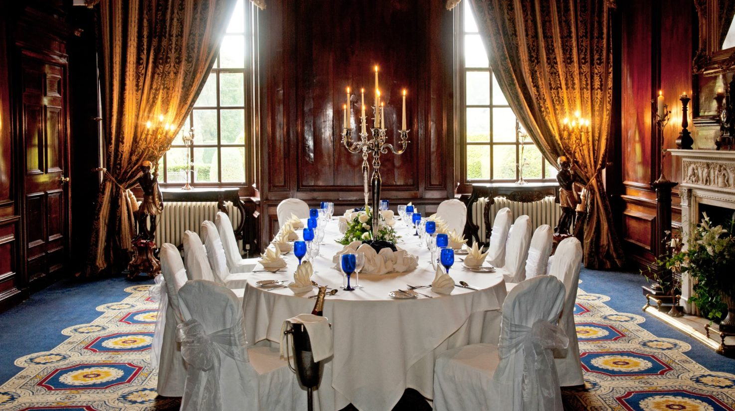 Private dining at Coombe Abbey