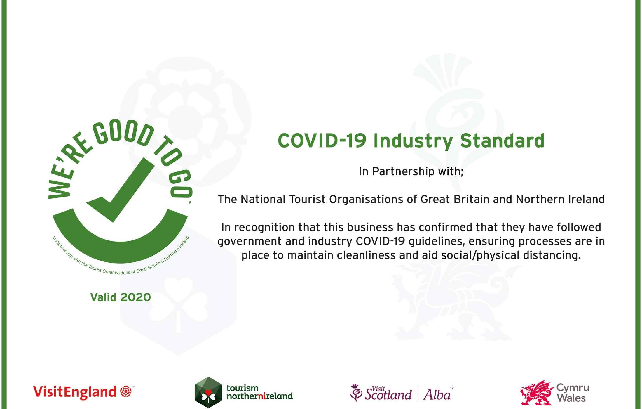 Covid 19 certificate