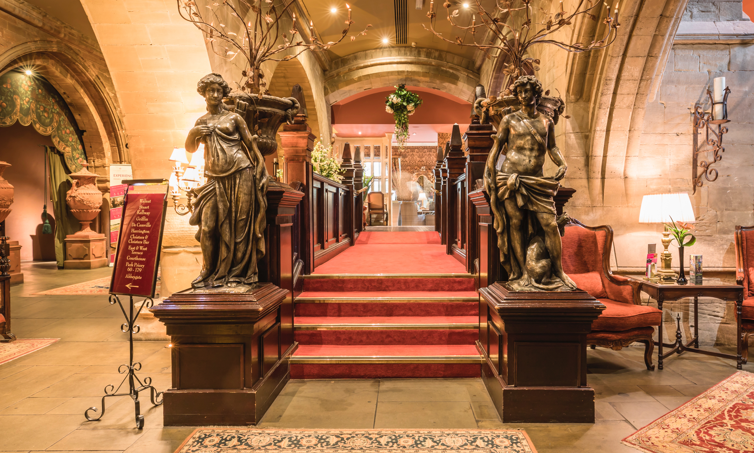 Coombe Abbey Hotel safety and security measures