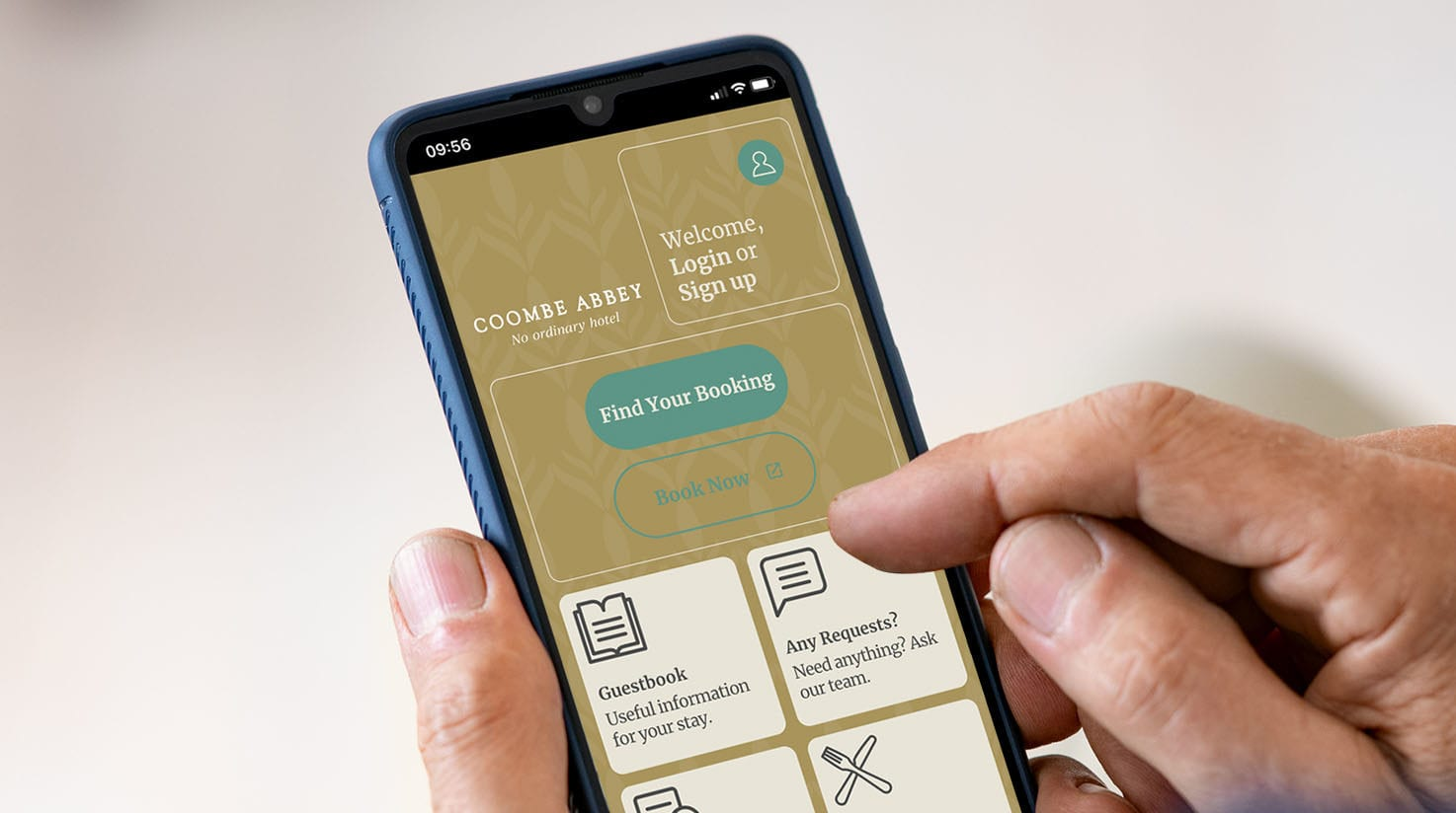 Download Coombe Abbey's App