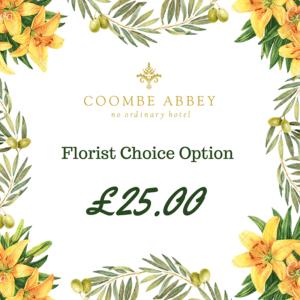 Florist Choice Option £25