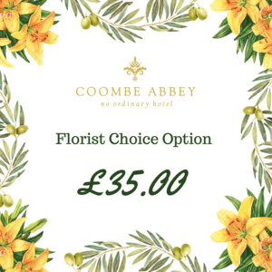 florist choice option £35