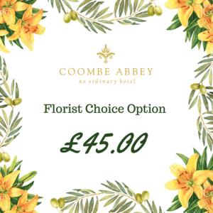 45 flower choice option