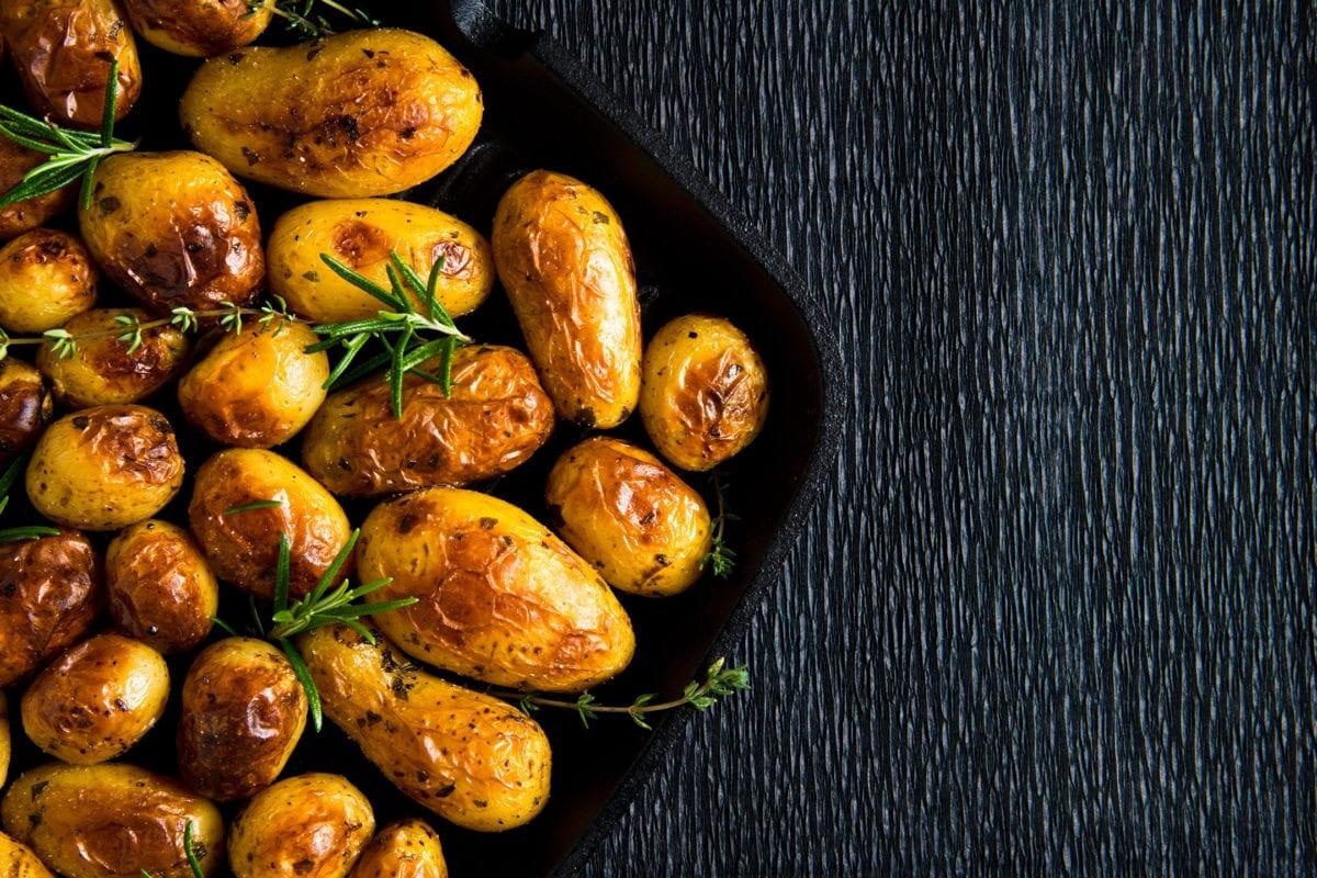 Roast Potatoes Sunday Lunch
