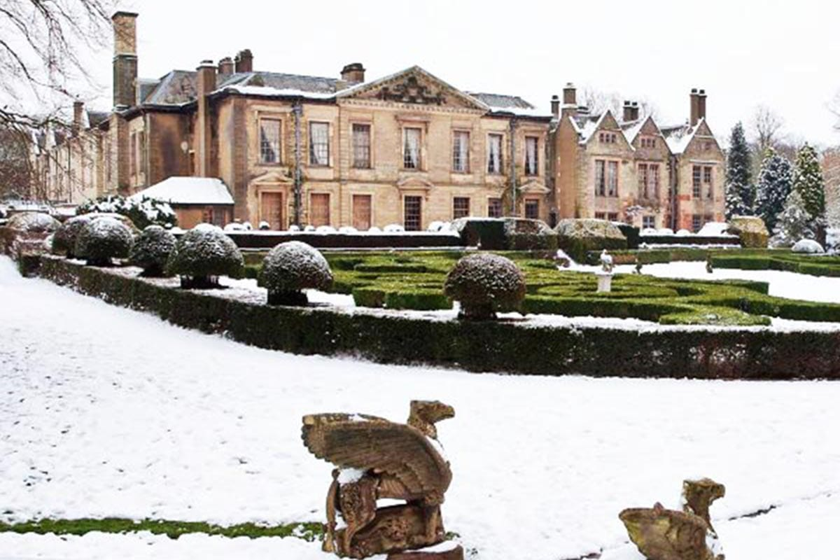 Coombe Abbey Snow Winter