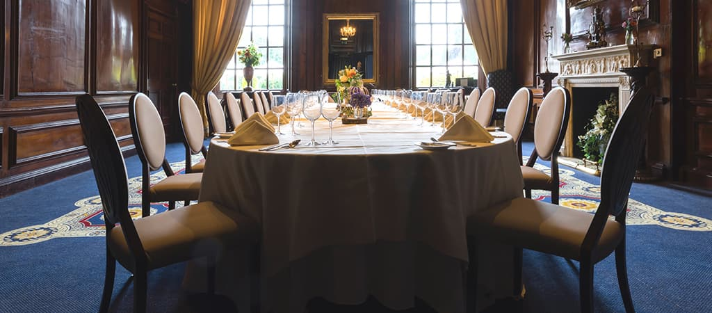 Private dining package