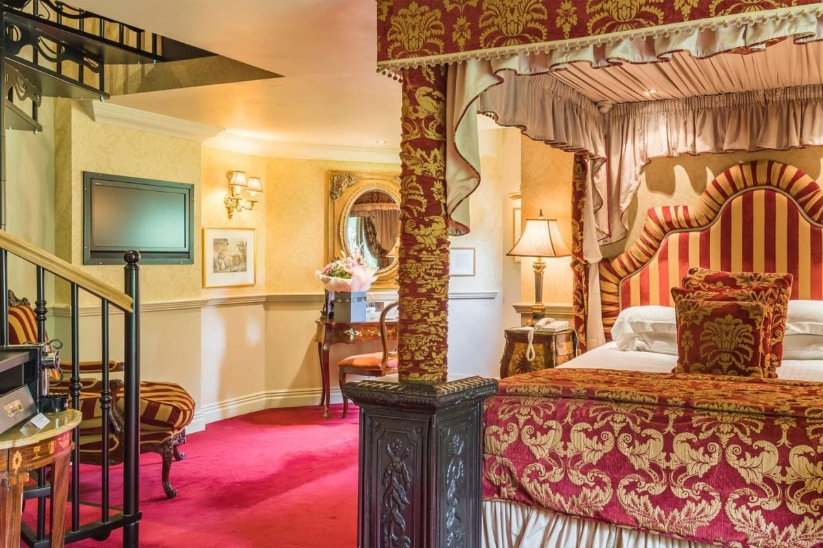 Cost of hotel room at Coombe Abbey