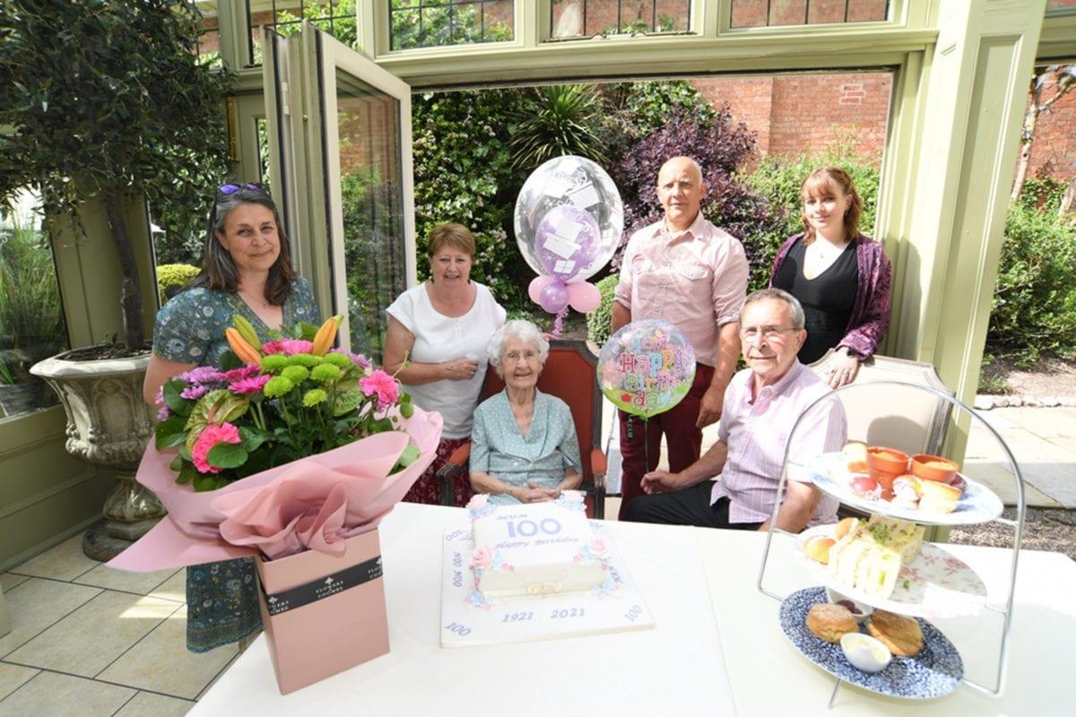 100th Birthday Afternoon Tea
